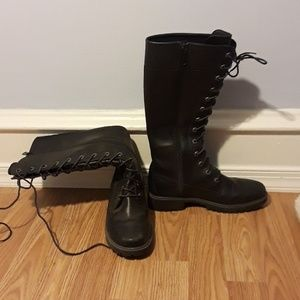 Timberland High Black Boots
